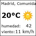 El tiempo en Madrid con meteo.es