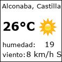El tiempo en alconaba-es con meteo.es