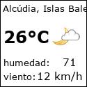El tiempo en alcudia-es con meteo.es