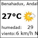 El tiempo en benahadux-es con meteo.es