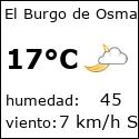 El tiempo en burgo-de-osma-ciudad-de-osma-es con meteo.es