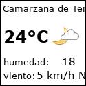 El tiempo en camarzana-de-tera-es con meteo.es