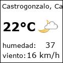 El tiempo en castrogonzalo-es con meteo.es