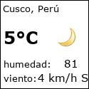 weather in cusco