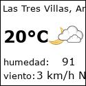 El tiempo en las-tres-villas-es con meteo.es