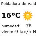 El tiempo en pobladura-de-valderaduey-es con meteo.es