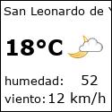 El tiempo en san-leonardo-de-yague-es con meteo.es