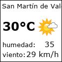 El tiempo en san-martin-de-valderaduey-es con meteo.es