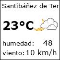 El tiempo en santibanez-de-tera-es con meteo.es