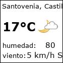 El tiempo en santovenia-es con meteo.es